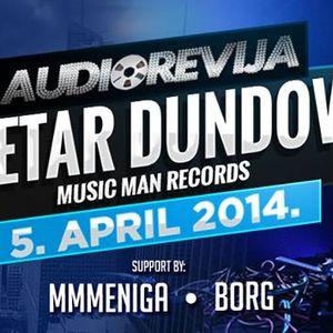 Petar Dundov @ Audiorevija, Club Palma, Tuzla, 05.04.2014.