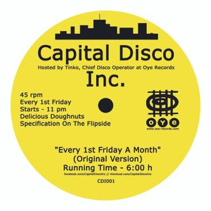 Capital Disco Inc. promo mix
