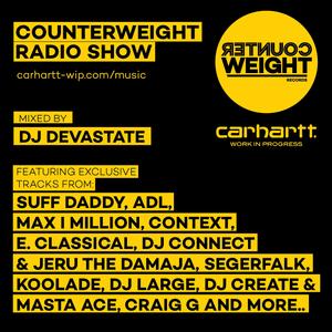 Carhartt WIP Presents: DJ Devastate - Counterweight Radio