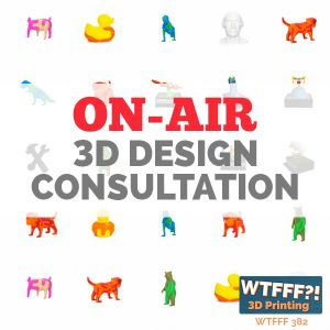 WTFFF 382: On Air 3D Design Consultation with Fleet Hower of Locknesters