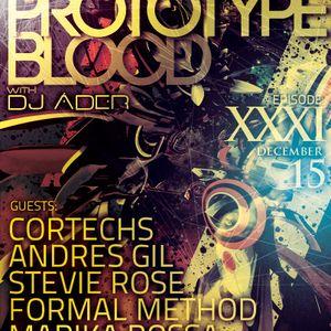Art Style : Techno | Prototype Blood With DJ Áder | Episode 31 [Part 1] : Cortechs
