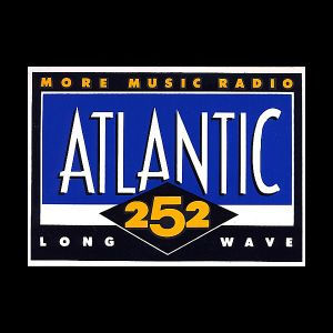 Atlantic 252 LW Trim 12-08-89 1st Test Tx. Tape with Promos