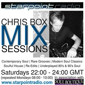 Chris Box Mix Sessions, Starpoint Radio, 10/12/2016 (HOUR 1)