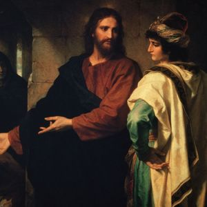 O jovem rico, que tudo entregou por amor a Deus