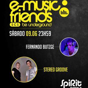 Fernando Butzge live @ SPIRIT (E-Music Friends 09/06/12)