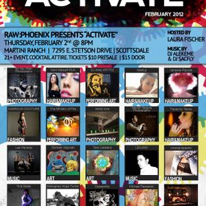 DJ Sac Fly - RAW Activate 'Selections' 2.2.12