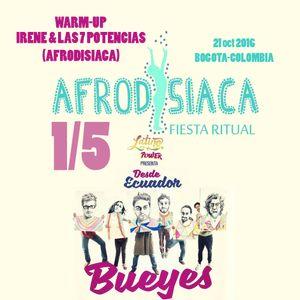 AFRODISIACA DJ SET PARA BUEYES DE MADERA EN LATINO POWER oct 2016 part 1-5