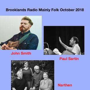 Brooklands Radio Mainly Folk October 2018