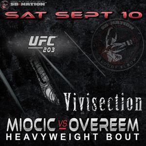 The MMA Vivisection - UFC 203 Miocic Vs. Overeem Picks Odds  Analysis