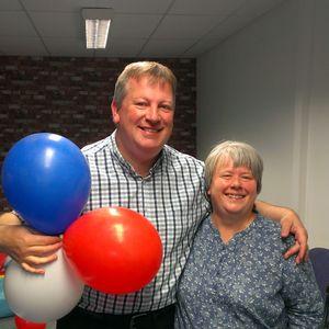 Breakfast with Phil Gough 19 June 2018 (guest Susan Barber, Broadoaks Child Development Centre)