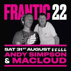 Frantic 22nd Birthday promo mix