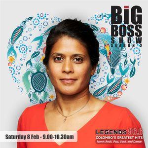 Dr. Asha De Vos On the Big Boss Show On Legends 966