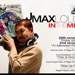Jmaxlolo live set @ Manila 21's Friday Vibes