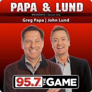 Papa & Lund - Hour 2 - 3/8/16