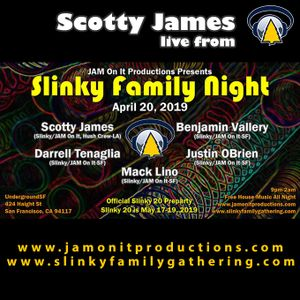 Scotty James - Live at Slinky Family Night - April 2019
