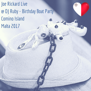 Joe Rickard Live at Birthday Boat Party - Malta 2017