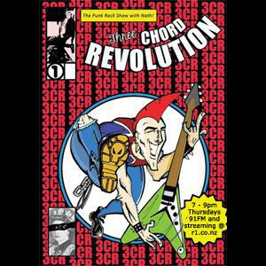 Three Chord Revolution Punk Rock Show (21/9/17) with Nath