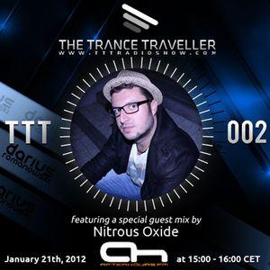 Darius Romanowski pres. The Trance Traveller RadioShow 002 with Nitrous Oxide Guest mix on Ah.Fm