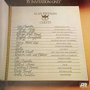 By Invitation Only [1976] Alan Freeman Pick Of The Pops Guests, feat Led Zeppelin, Rolling Stones