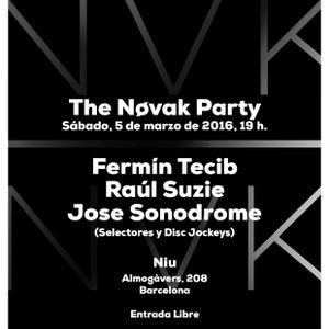 Fermin Duran (AKA Tecib) djeing at Nøvak party Niu 5.3.2016