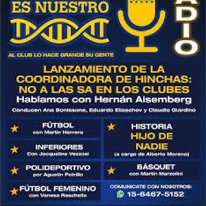 Boca es Nuestro. Programa 18. Jueves 01/12/2016 en Radio iRed HD.