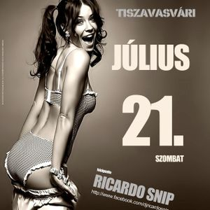 Ricardo Snip - Live @ Sörpatika, Tiszavasvári (2012.07.21.) part 1
