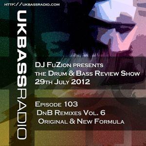 Ep. 103 - Drum & Bass Remixes, Vol. 6