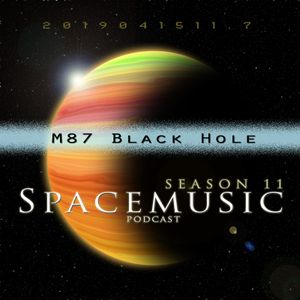 Spacemusic 11.7 M87 Black Hole