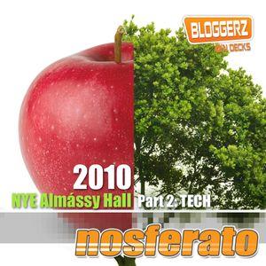 Nosferato @ Almássy 2/2 (Tech) 2010-12-31
