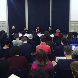 FBL #0   TECHNO-ANIMISM, panel discussion with Betti Marenko, Tobias Revell & Robert Walker   RCA