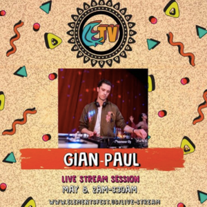 Gian-Paul | Live Stream at Elements - Alchemy | 5.8.2020