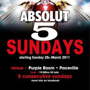 Jib Rafill Dj Set @ Purple Room 21.03.2011.