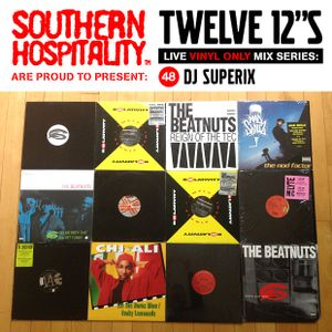 Twelve 12's Live Vinyl Mix: 48 - DJ Superix – Beatnuts special!