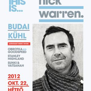 Sunki live @ This is... Nick Warren, 22.10.2012 Cinema Hall