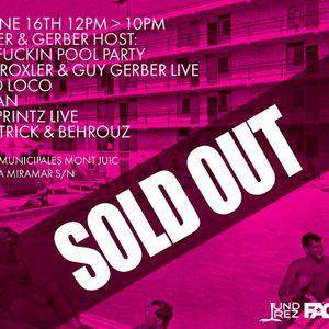 Behrouz & Bill Patrick - Live @ Sonar It's a Fuking Pool Party, Piscinas de Montjuic, Barcelona, Esp