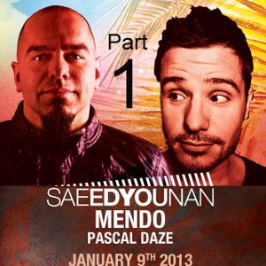 Saeed Younan Live at Mamita's Beach - The BPM Festival 2013 Part 1