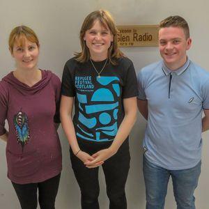 Callum McQuade Interviews author Victoria Williamson and Rebecca Bates from Scottish Refugee Council