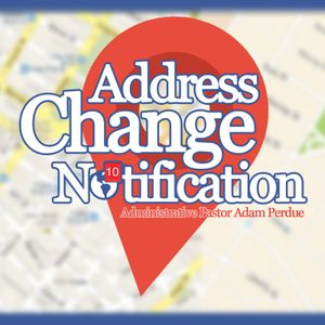 5-1-16 Address Change Notification - Adam Perdue