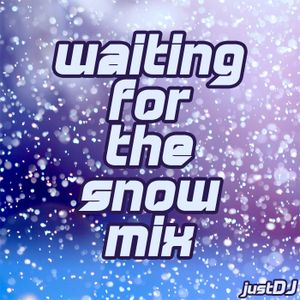waiting for the snow mix