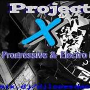 PROJECT X PROGRESSIVE & ELECTRO HOUSE