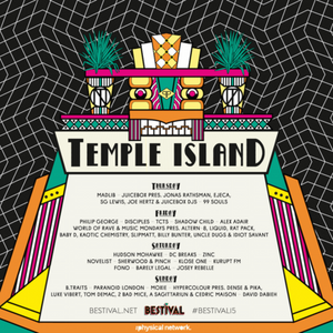 The 'I Wanna Share A Stage With HudMo' Mix - Bestival Temple Island Mix Competition