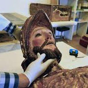 Escultura de Santiago Apóstol. Patrimonio recuperado