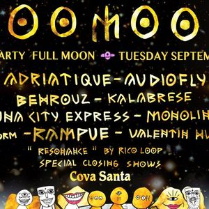 Adriatique @ Woomoon Closing Party - 05 September 2017