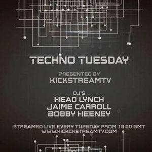 Bobby Heeney Techno Tuesday 27.9.2016