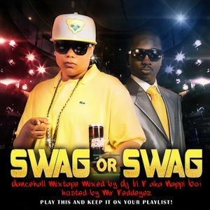Dj Lil'R aka NappiBoi - Swag or Swag Mixtape (Hosted by Mr Red Eyes)