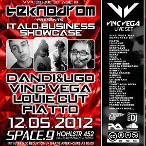 Vinc-Vega - Live-Set 12.05.12 - Space 9 Zürich