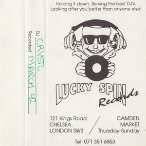 DJ Crystl - Lucky Spin Records Studio Mix [March '92]