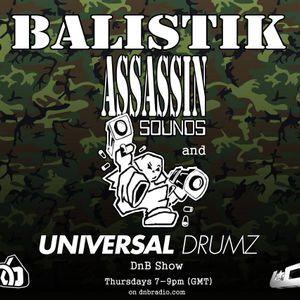 Balistik Live on Dnbradio 21st Jan 2016