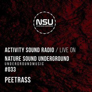 Peetrass - Nature Sound Underground Showcase #033 on activitysoound.com