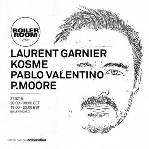 Laurent Garnier Boiler Room Lyon DJ set 27-07-2015